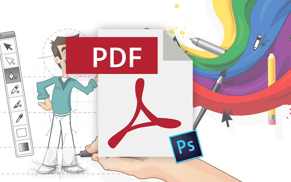 como hacer un pdf en photoshop