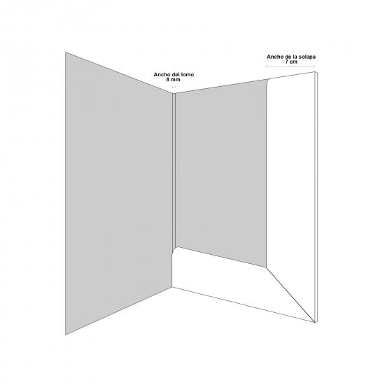 Sello de caucho rectangular