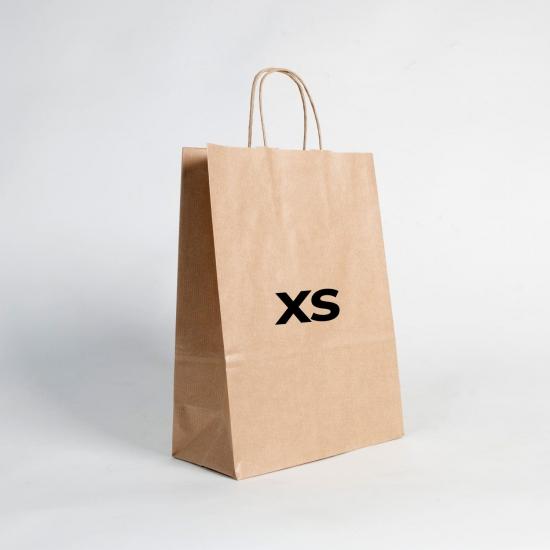 Bolsas de papel estándar XS