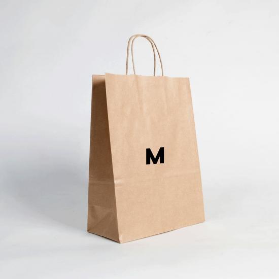 Bolsas de papel estándar M