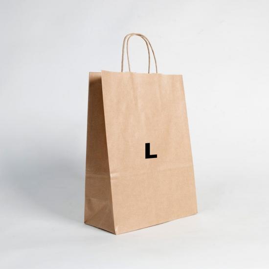 Bolsas de papel estándar L