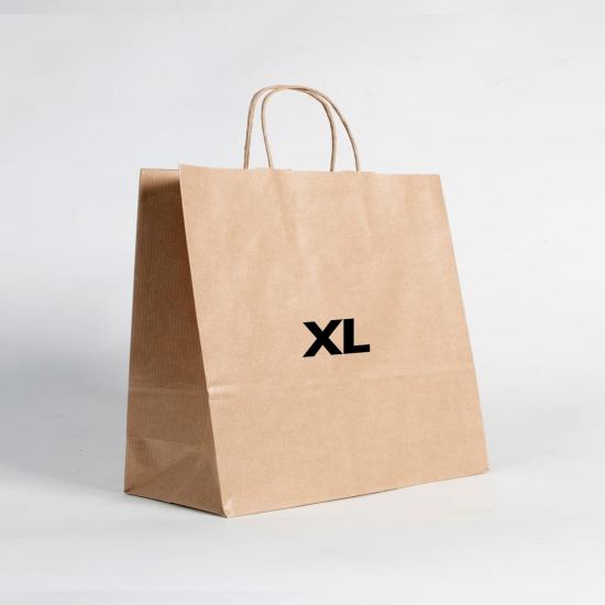 Bolsas de papel estándar XL