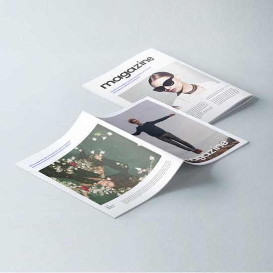 Revistas grapadas DIN-A4...