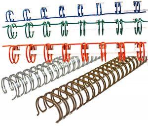 Colores encuadernado wire-o